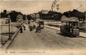CPA-Tours-Le-Grand-Pont-et-la-Tranchee-611848