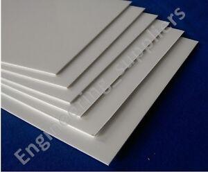 Blanc Mat/brillant Plasticard Feuille Polystyrène A5, A4 & A3, 1, 2 & 3 Mm Épaisseur-afficher Le Titre D'origine ModèLes à La Mode