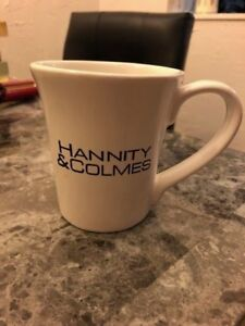 9d3625fc9c0 Details about RARE HANNITY & COLMES Fox News Mug Coffee Cup 4 1/4 inches  Tall