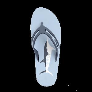 Save 50/% HUK KC Marlin Men/'s Flipster Flip Flop Sandal Fishing Boating