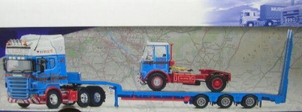 Scania R Tieflader mit Atkinson Borderer Borderer Borderer Scotlee Transport a4bd22