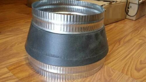 10-8(250mm - 200mm) METAL DUCT REDUCER/HVAC DUCT REDUCER/REDUCER FITTING