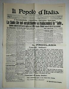N1045-La-Une-Du-Journal-il-popolo-d-039-Italia-29-octobre-1922-il-proolama