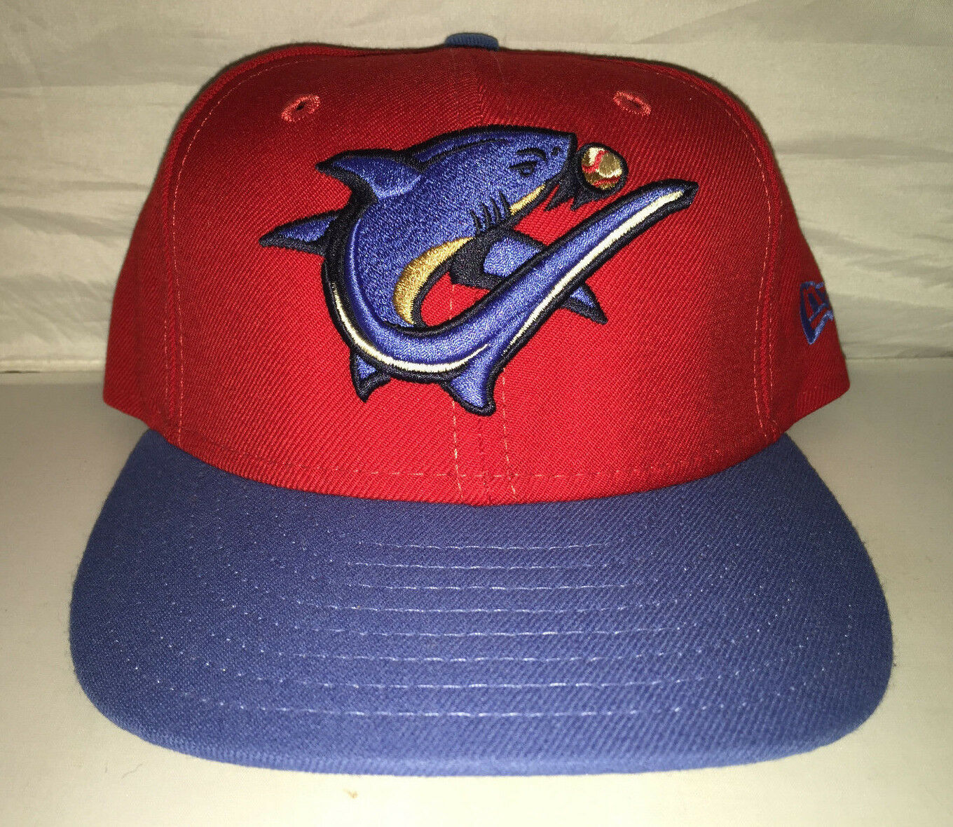 Vtg Clearwater Threshers Minor hat League Baseball MiLB Fitted hat Minor cap NEW ERA 7 1/4 2e617f