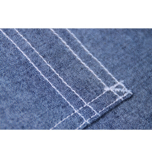 Repro WW2 US Navy Chambray Work Shirts Blue Naval Men/'s Cotton Workshirt Fatigue