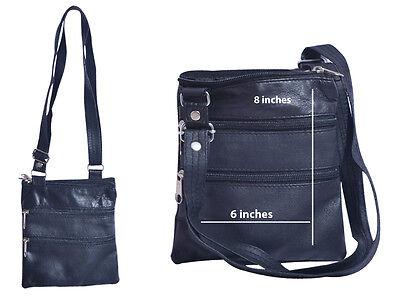 Damen Schaf Leder Stil Taschen Schultertasche Groß Einkaufstasche Portemonnaie