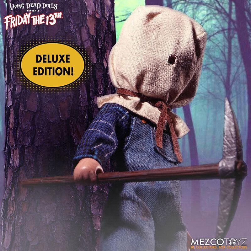 Living Dead Dolls Friday The 13th Parte II Jason Voorhees Deluxe Figura Mezco