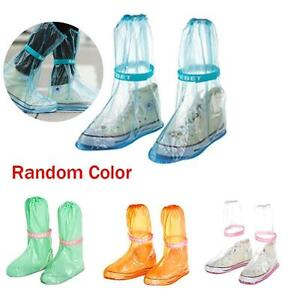 Antiskid Waterproof Reusable Raincoat Set Travel Rain Shoe Boots Cover Overshoes