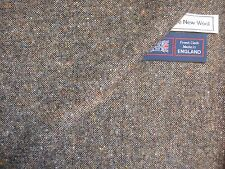 DONEGAL, PURE NEW WOOL DONEGAL TWEED FABRIC –MADE IN HUDDERSFIELD ENGLAND– 1.9 m