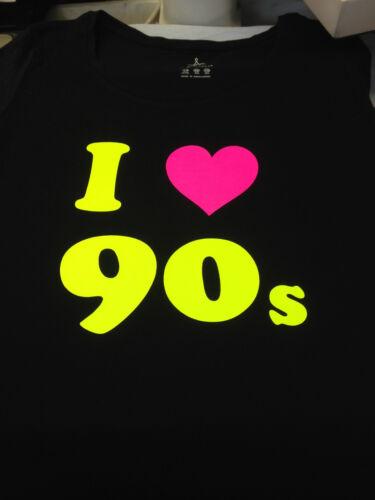 I Love The 90/'s//80/'s//70/'s Fancy Dress T Shirt