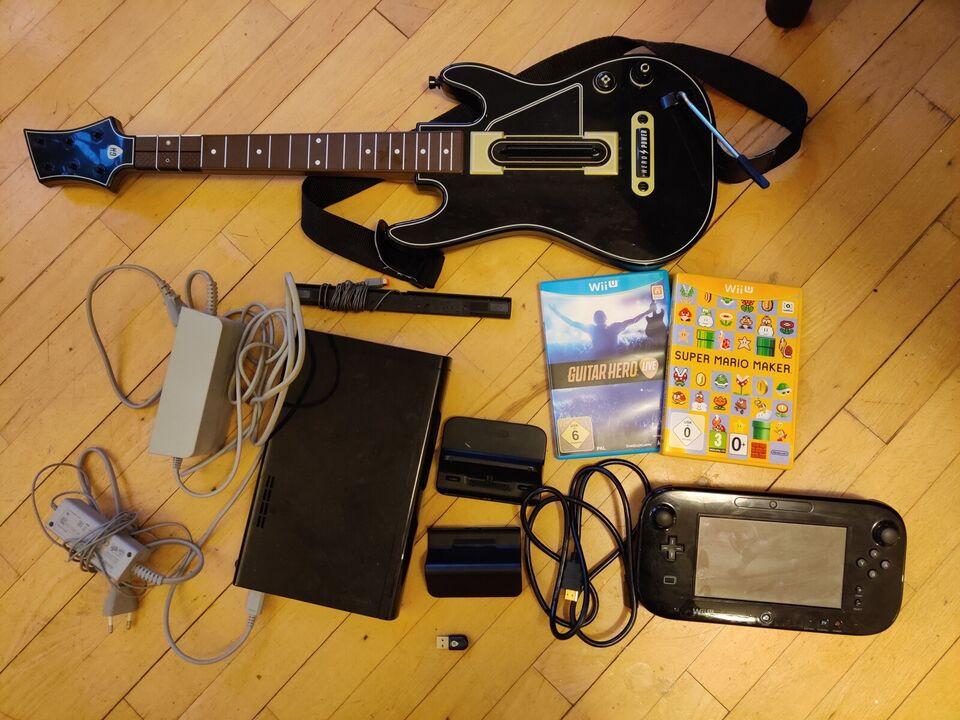 Nintendo Wii U, Wii U med Guitar Hero Live og Super Mario