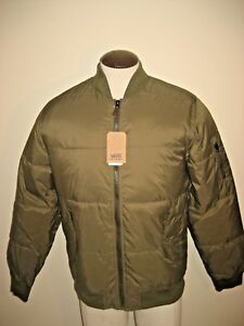 071ba347143bfa Image is loading Vans-Shoes-Mens-Strahorn-Quilted-Insulated-Bomber-Jacket-