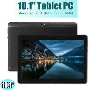 "10.1"" TABLET PC Android 6.0 Telecamera WIFI HD bluetooth 4G+64GB bl"