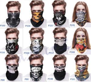 Multi-use-Bandana-Tube-Scarf-Snood-Biker-Balaclava-Cycling-Neck-Gaiter-Mask-New