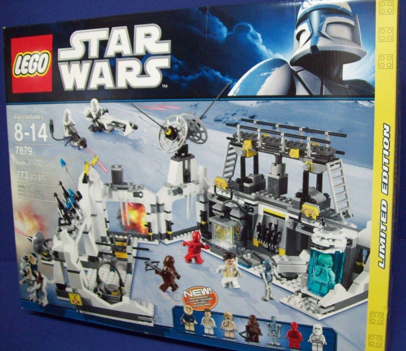 LEGO estrella  guerras calienteh Echo Base (7879) nuovo NISB Retirosso  100% nuovo di zecca con qualità originale