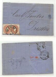 Austria 14  and  15   on  folded letter            KL1025