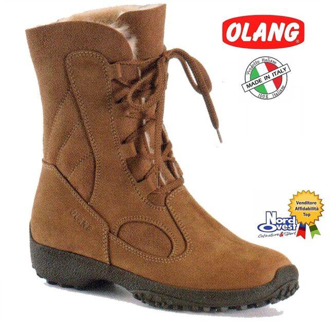 scarpe di separazione 1bca8 5b103 SCARPE CALZATURE Stivaletto Doposci Boot Neve Olang art. Galles Donna col.  cuoio