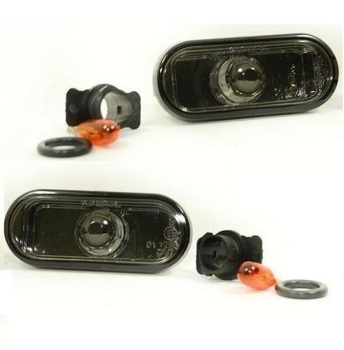 Smoked Crystal Mirror Design Side repeaters and bulbs to fit VW Bora