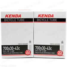 "27x1/"" LOT OF 3 XLC 700x18//20c 33mm Threaded Presta Valve Bike Inner Tubes NEW"