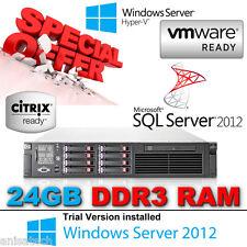 HP DL380 G6 2.80Ghz SixCore X5660 Xeon 24GB RAM 2x146Gb SAS 10K P410i/512Mb Raid