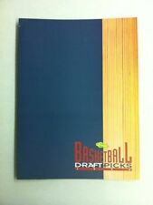 1993-94 Classic Draft Picks Promotional Pamphlet/Folder (Webber/Penny Hardaway)