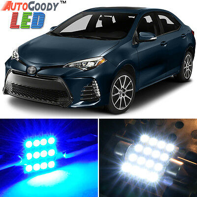 8x HID White Interior LED Lights Package Kit Fits 2013-2015 Toyota Corolla New