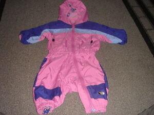 COLUMBIA-GIRLS-2T-PINK-TECHTONITE-SNOWSUIT