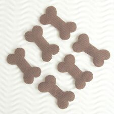 """US SELLER - 80pc x 1.25"""" Padded Doggy's Bone Appliques for Hair Bows/Card ST328N"""