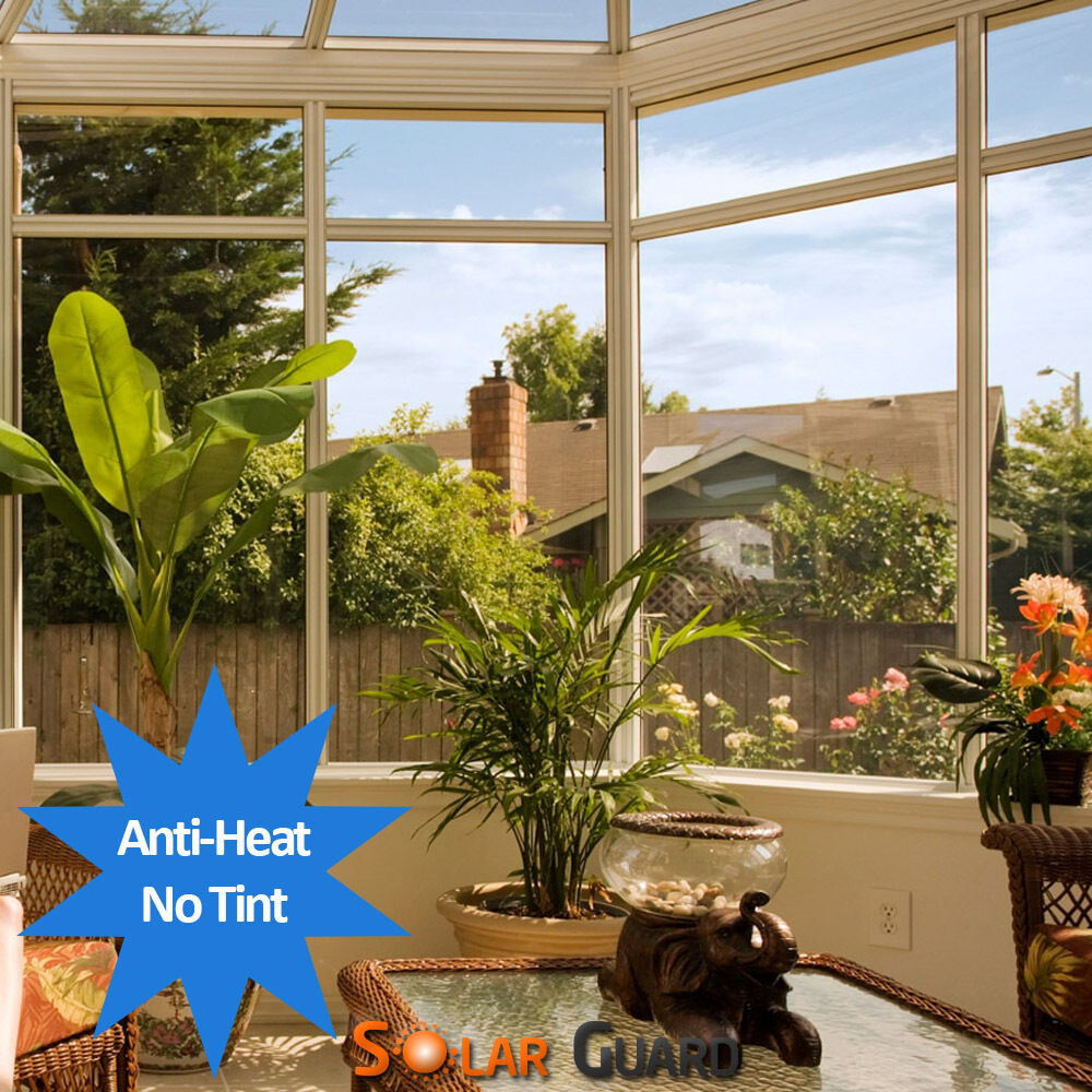 Coolclear Solar Clear Heat Reflective Window Film Sticky