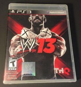 WWE-13-PS3-USED