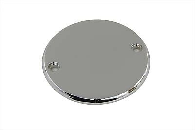 Smooth Ignition System Cover 2-Hole Chrome fits Harley-Davidson