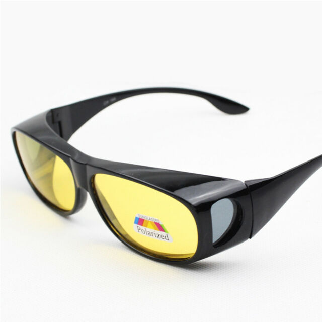 c8a03fd4826 USA Stock HD Night Sight Driving Vision Glasses Polarized Anti Glare  Sunglasses