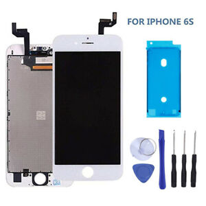 watch 2c7a4 fac77 Details about For iPhone 6S White LCD Screen Digitizer Replacement - OEM IC  - Genuine 3D Touch