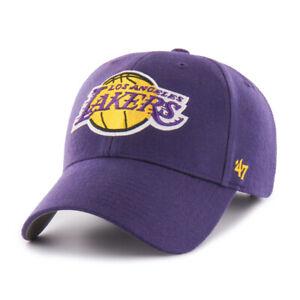 One Size, White Region Mesh 47 Los Angeles Lakers Brand Clean Up Adjustable Strap Back Hat NBA Basketball Flat Bill Baseball Cap LA