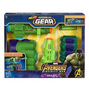 Hasbro Marvel Avengers E0612eu4 - Équipement d'assemblage pour Infinity War Hulk