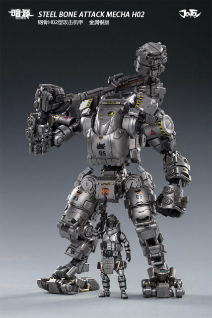 JOYTOY 8in.Doll Steel Bone Attack Mecha Action Collection H02 52021031 Toy