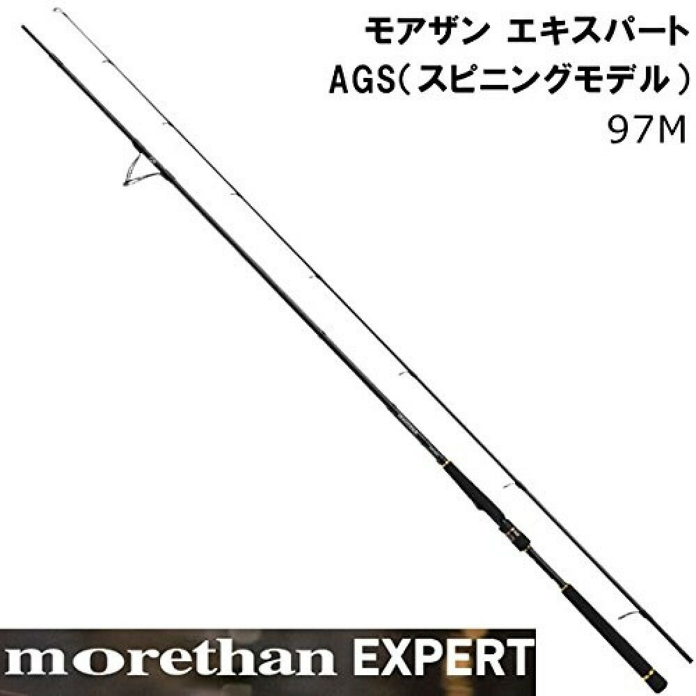 Daiwa Seabass Rod Spinning Morethan Expert AGS AGS Expert 97M From Japan 2bfbc4