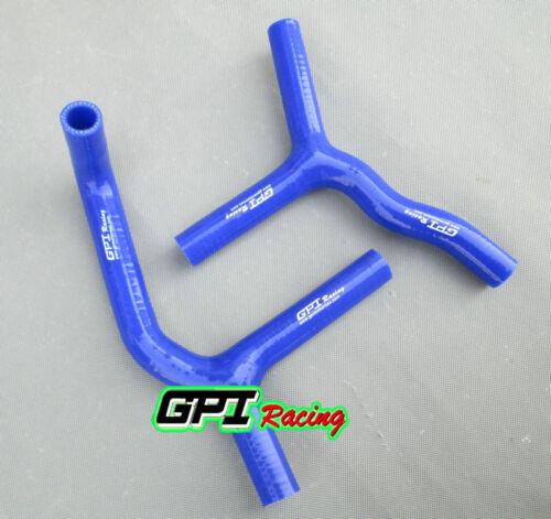 FOR KTM 85//105 SX//XC 2003-2012 silicone radiator BLUE hose Y kit