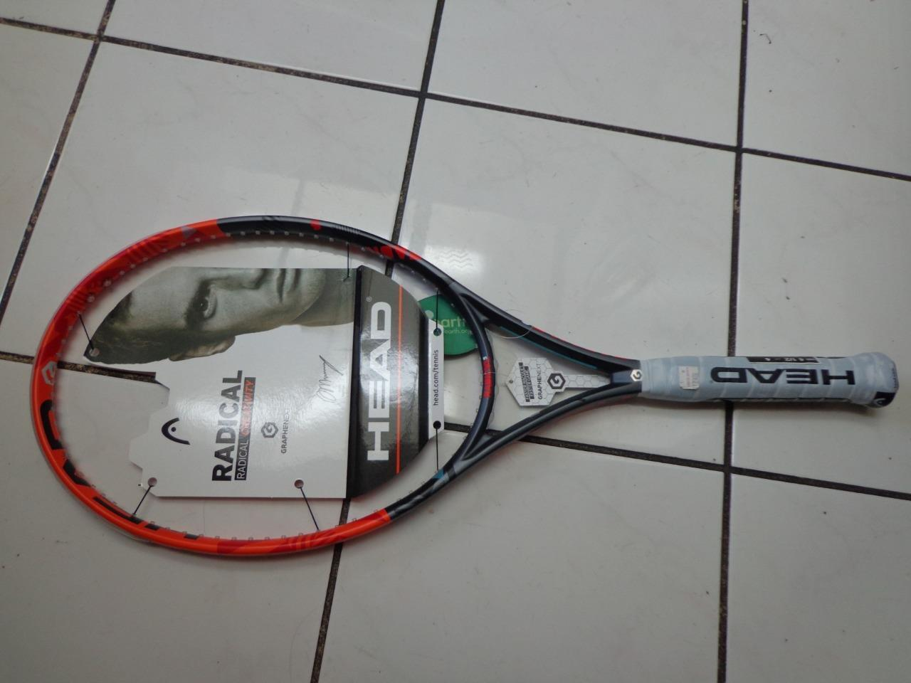 NEW Head Graphene Radical S 102 head 4 1 2 grip Tennis Racquet