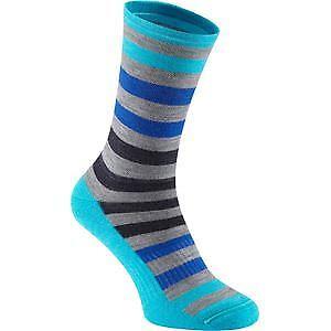 Madison Insulate Merino 3-saison Sock, Blue Fade X-large Bleu