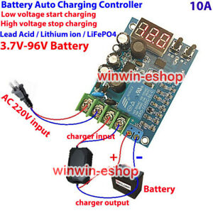 12V-96V-10A-LED-Automatic-Battery-Charger-Charging-Controller-Protection-Board