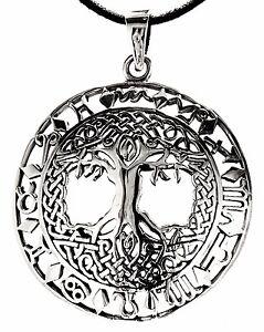 N-211-arbol-de-la-vida-colgante-plata-925-Yggdrasil-Signos-del-Zodiaco