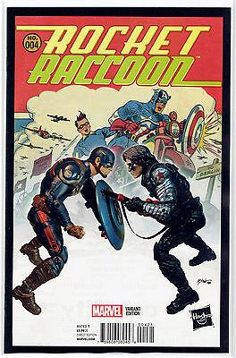 ROCKET RACCOON #1 DEODATO HIP HOP VARIANT COVER MARVEL COMIC BOOK NEW 2016