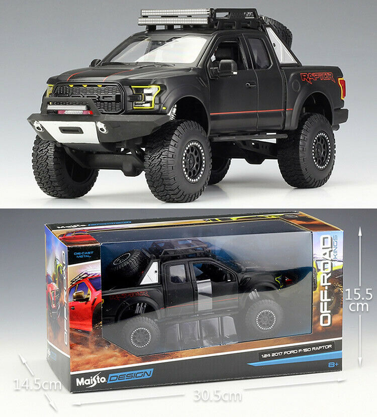 MAISTO 1 24 Ford 2017 F-150 Raptor Alloy Diecast Vehicle Car MODEL TOY GIFT NIB