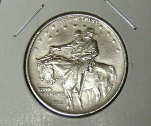 1925-Stone-Mountain-Commemorative-Civil-War-Half-Dollar-AU-Detail-91120