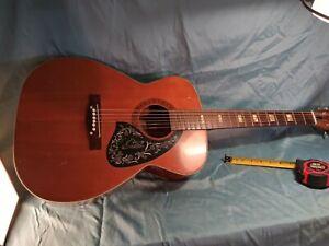 Vintage 1960 Prairie Humming Bird Acoustic Guitar