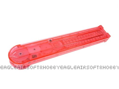 DB P90 Pink 280rds Hi-Cap Magazine for Airsoft AEG.Clear Pink.