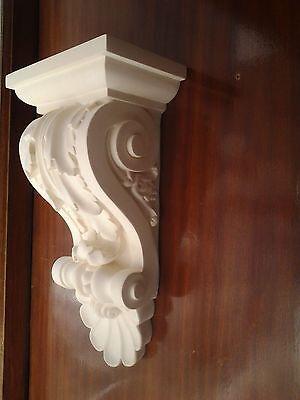 LOT de 10 appliques,console murale plâtre (staff)L:22cmxProf:13cm.H 40cm Réf:C40