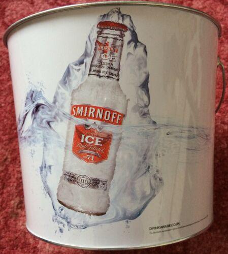 NEW Metal Smirnoff Ice Bucket L@@K