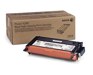 Xerox-Phaser-6280-hohe-Kapazitaet-schwarze-Tonerkassette-7-000-Seiten